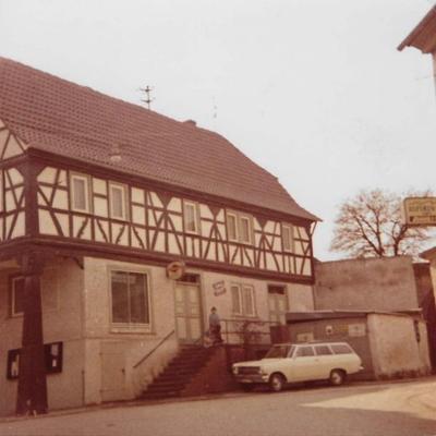 Das erste Backhaus, 1953