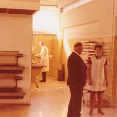 Bäckerei 1973