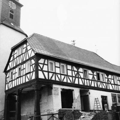 Das erste Backhaus vor der Renovierung